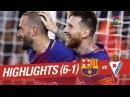 Resumen de FC Barcelona vs SD Eibar (6-1)