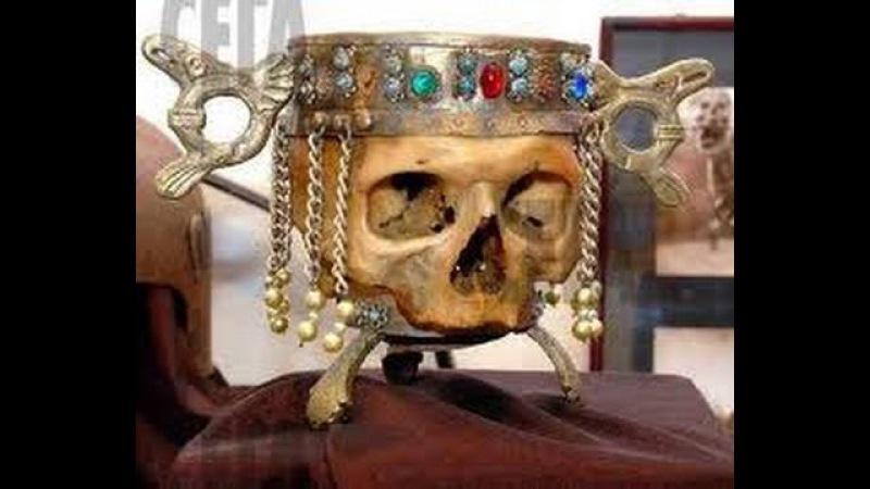 Чашы из черепов Святослава и Никифора. Ханы Куря и Крум
