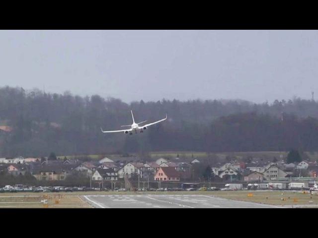 ВЕвропе ветром сдувало самолеты ипоезда, наСША идет снежная буря