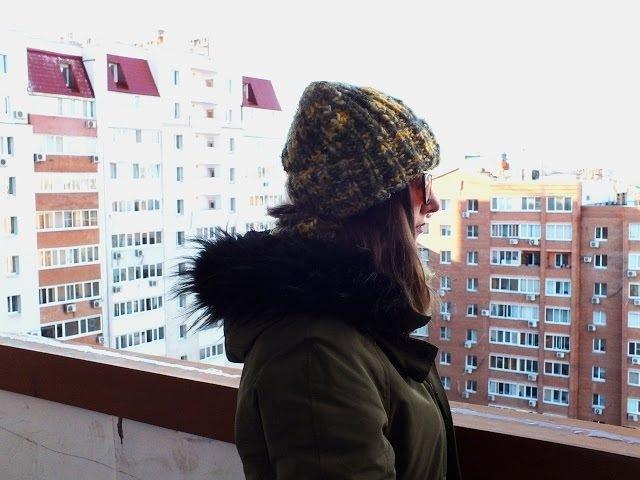 Объемная шапка с отворотом, часть 3. Убавки на макушке.