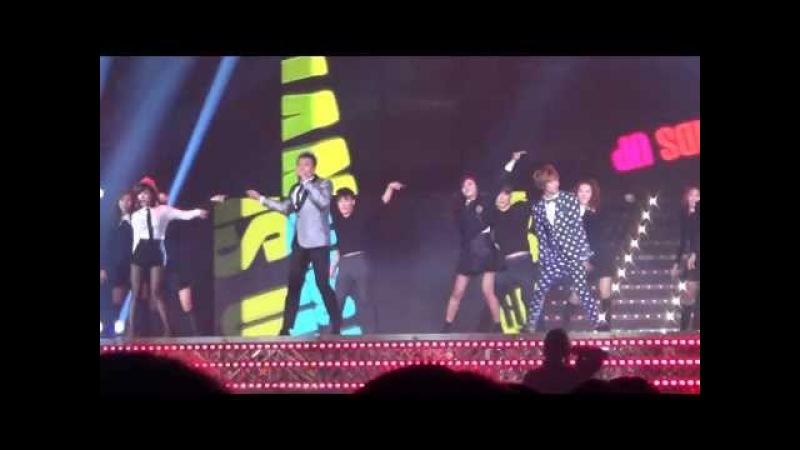 20131229 JYP Special Dancing A-PINK EunJi @ SBS Gayo Daejun