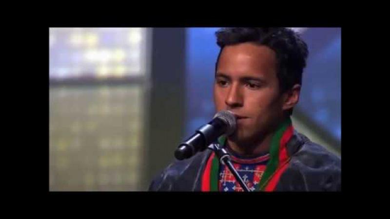 Индеец Юн Хенрик Фьяллгрен песня сердца на шоу голос Швеции супер вокал