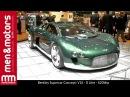 Bentley Supercar Concept V16 8 Litre 620bhp