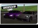 Тест-драйв Infiniti Q50.Гонка против Porsche!GreenTech RP CRMP60