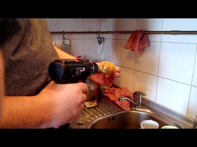 шуруповёрткартошканож для нарезки картофеля спиралью