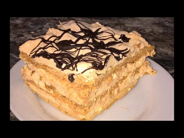 Торт Сникерс. Торт Сникерс рецепт. Воздушный сникерс торт. Торт Сникерс с арахисом. Простой вкусный!