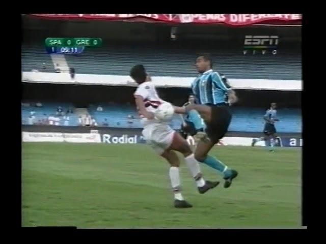 São Paulo 3 x 4 Grêmio-Copa Do Brasil 2001(Jogo Completo)