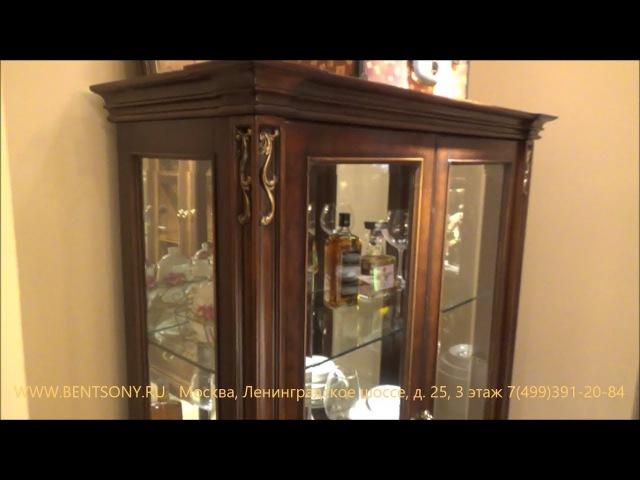 Видео обзор: Классическая Витрина Крофорд для предметов декора