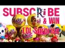 Розыгрыш 5 LOL Surprises и 5 RC Flying ball для подписчиков YouTube канала RIhanna Ri