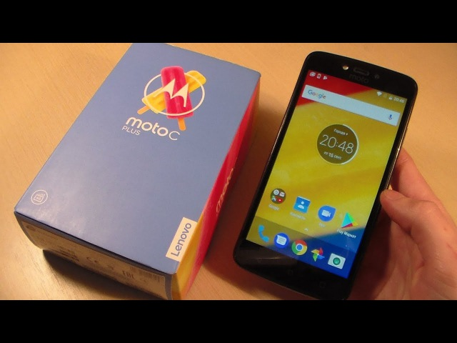 Обзор Motorola Moto C Plus (XT1723)