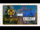 OWL2018 Просмотр OWL Seoul Dynasty vs New York Excelsior, Часть 1
