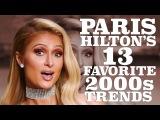 Paris Hilton Breaks Down Her Favorite 2000s Trends W magazine