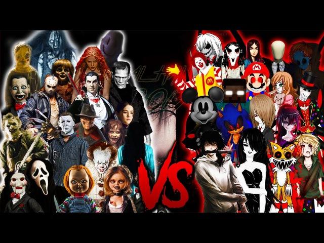 IT SAW CHUCKY JASONFREDDY VS. SLENDER JEFF HEROBRINE ZALGO RAP    (Especial Halloween 2017)
