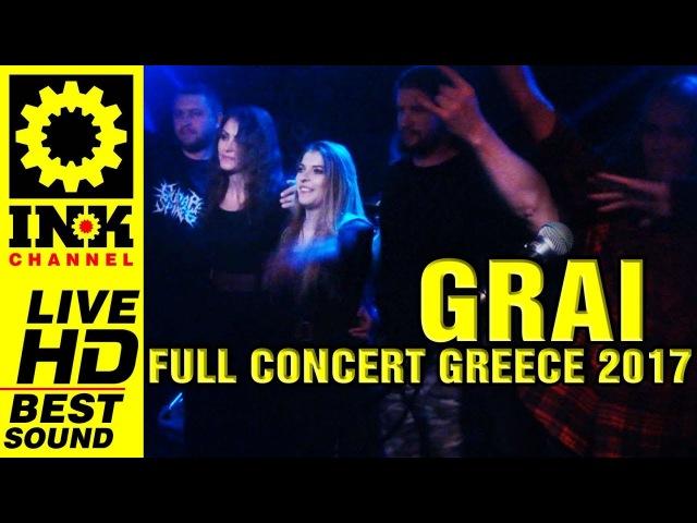 GRAI (RU) full concert [4/10/17 8ball Thessaloniki Greece]