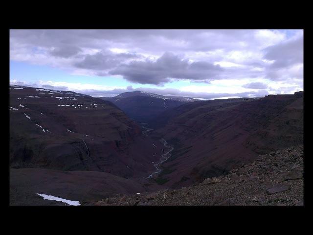 Сквозное пешее прохождение плато Путорана в июле 2017