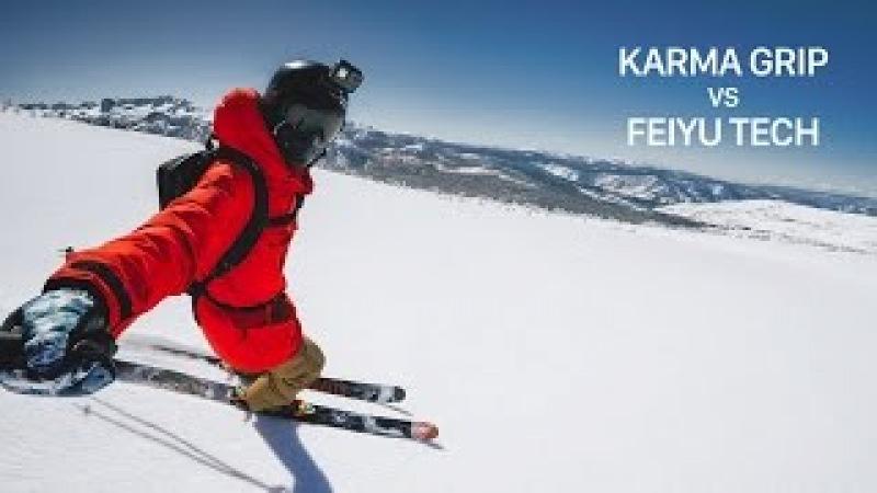 GoPro Gimbal - Karma Grip vs Feiyu Tech Comparison
