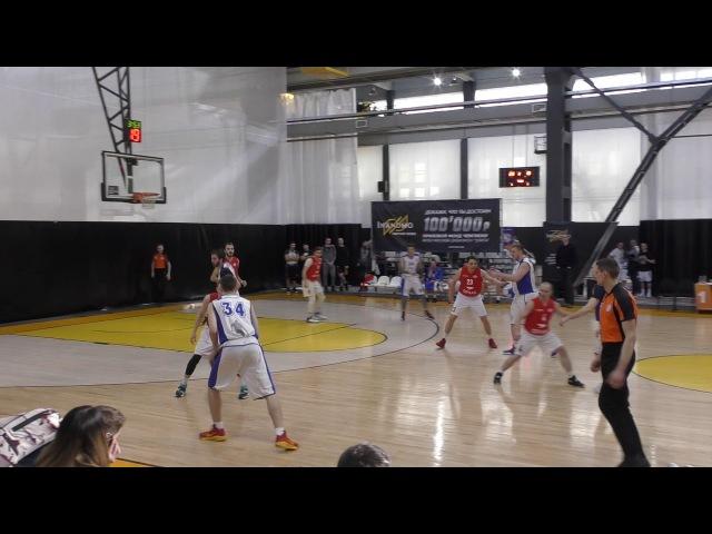 МЛБЛ-Москва. Тур 22. Спартак - Profit Basket
