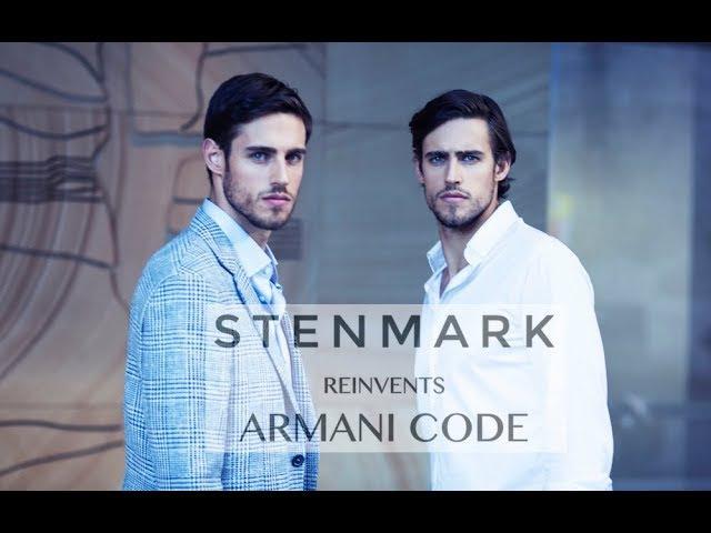 STENMARK REINVENTS ARMANI CODE COLONIA