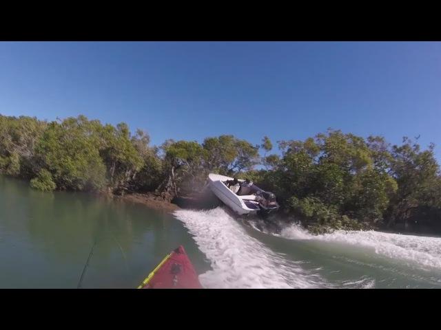 ✪ Идиоты за Рулем Моторных Лодок Аварии Моторных лодок на рыбалке Необычная Рыбалка