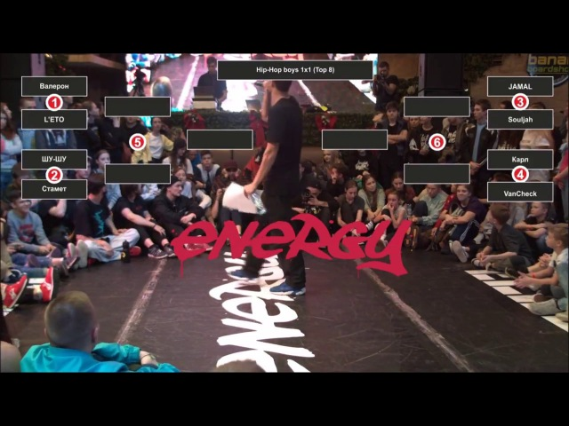 Valera vs L'eto | Male Hip-Hop 1/4 | ENERGY BATTLE |