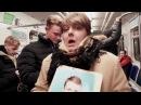 Жесть в метро Не позорься встань и выйди
