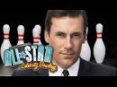 Jon Hamm is perfect EVEN AT BOWLING -- Mad Men v Nerdist - All Star Bowling