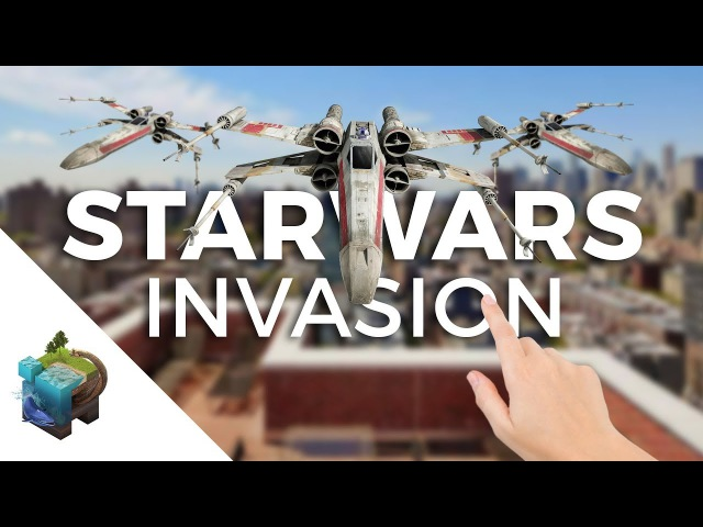 Apple ARkit STAR WARS Invasion Part 2 They are Everywhere Assemblr