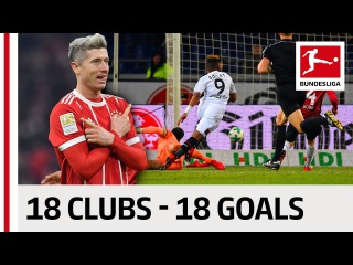 18 Clubs, 18 Goals - The Best Goal By Every Bundesliga Team in 2017/18 so far