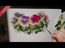 One Sroke ile Menekşe (Violet) Yapımı | Didem HD 1080p