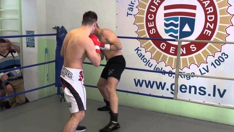 Jevgenijs Aleksejevs (Latvia) VS Dmitry Savenko (Russia) 01.04.2014 .proboxing.eu