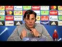 Montella: Hay que obligar al Bayern a hacer cosas a las que no están acostumbrados. 02/04/18