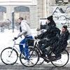 На работу на велосипеде — 9 февраля, Петербург