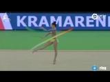 Лала Крамаренко лента (финал) // Международный турнир юниорок Гвадалахара,Испания 2018