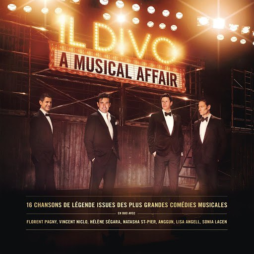 Il Divo альбом A Musical Affair (French Version)