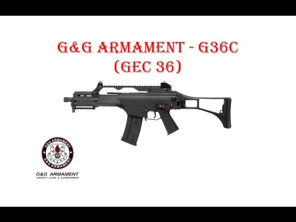 [ОБЗОР] GG ARMAMENT - G36C GEC 36 AEG airsoft (страйкбол)
