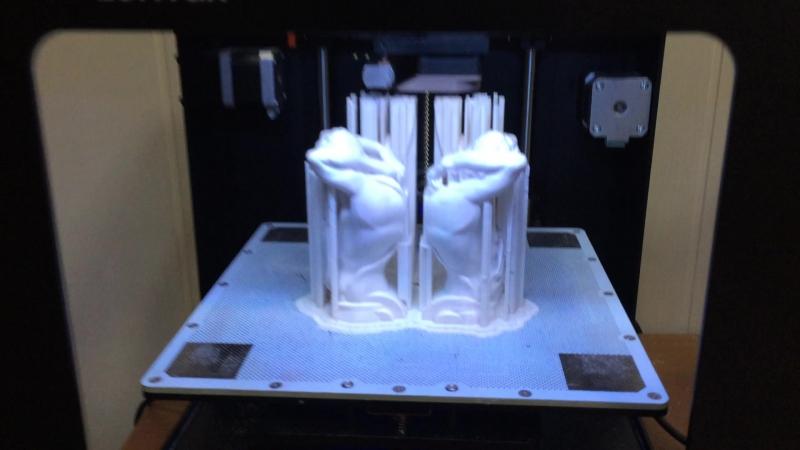 Печатаем атлантов. Студия 3Д печати и моделирования