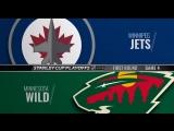 Stanley Cup Playoffs 2018 WC R1 Game 4  Winnipeg Jets-Minnesota Wild