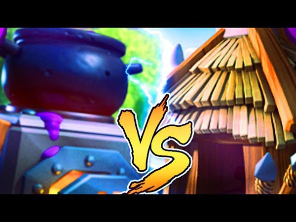 ПЕЧЬ ПРОТИВ ХИЖИНЫ ГОБЛИНОВ| FURNACE VS GOBLIN HUT CLASH ROYALE BATTLE