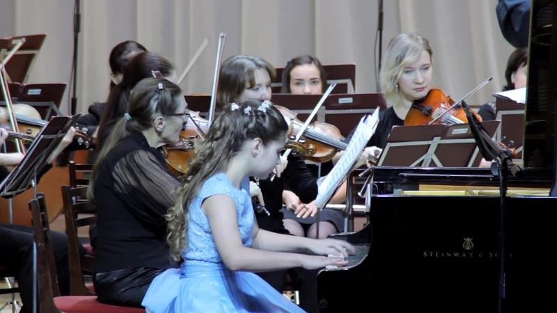 09_Алена Фефилова - И.Гайдн - Концерт Ре мажор для клавира с оркестром, 1 часть