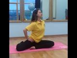 Woman's class – новые групповые занятия в клубе MARINA. Упражнение на раскрытие тазобедренного сустава
