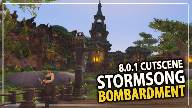 Stormsong Bombardment - Battle for Lordaeron cutscene (early preview)