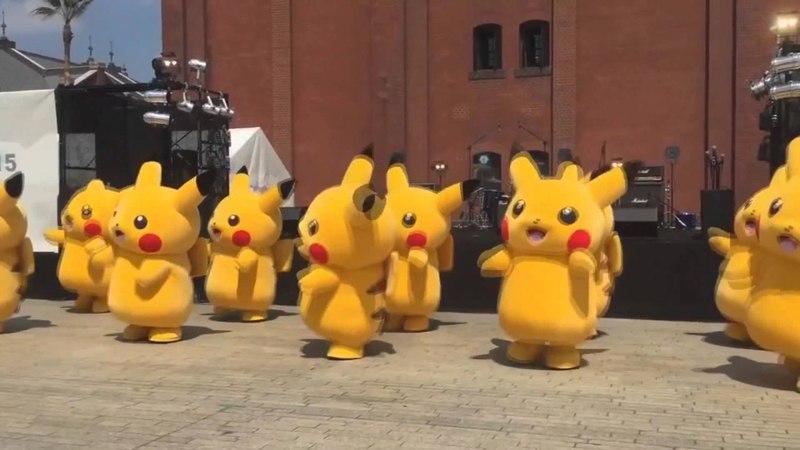 Cute pikachu dancing to Meshuggah