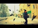 Мужик против голубей