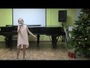Выступление моих учеников (Жарикова Таисия, Глязман Саманта, Робу Емилия)