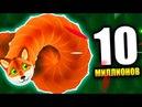 WORMAX.IO - НАБРАЛ 10,000,000 ОЧКОВ! САМЫЙ БОЛЬШОЙ РЕКОРД В МИРЕ! КЛОН SLITHER.IO (ВОРМАКС ИО)