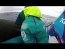 Jump on board with the Тeam AkzoNobel sailors as they fight their way upwind on Volvo Ocean Race Leg 8 and try to formulate a co