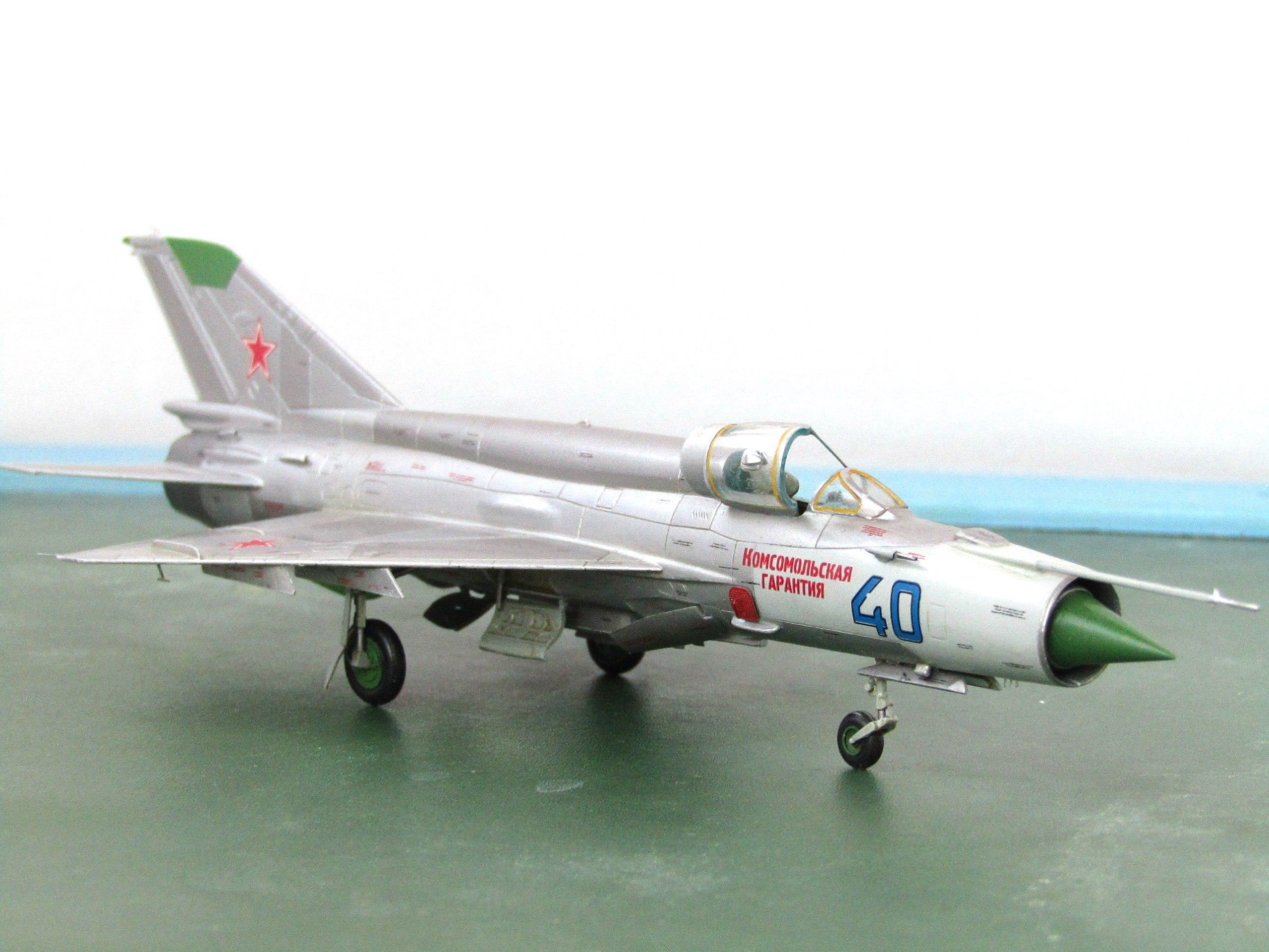 МиГ-21БИС 1/72 (Звезда) SH4rxbwazG0