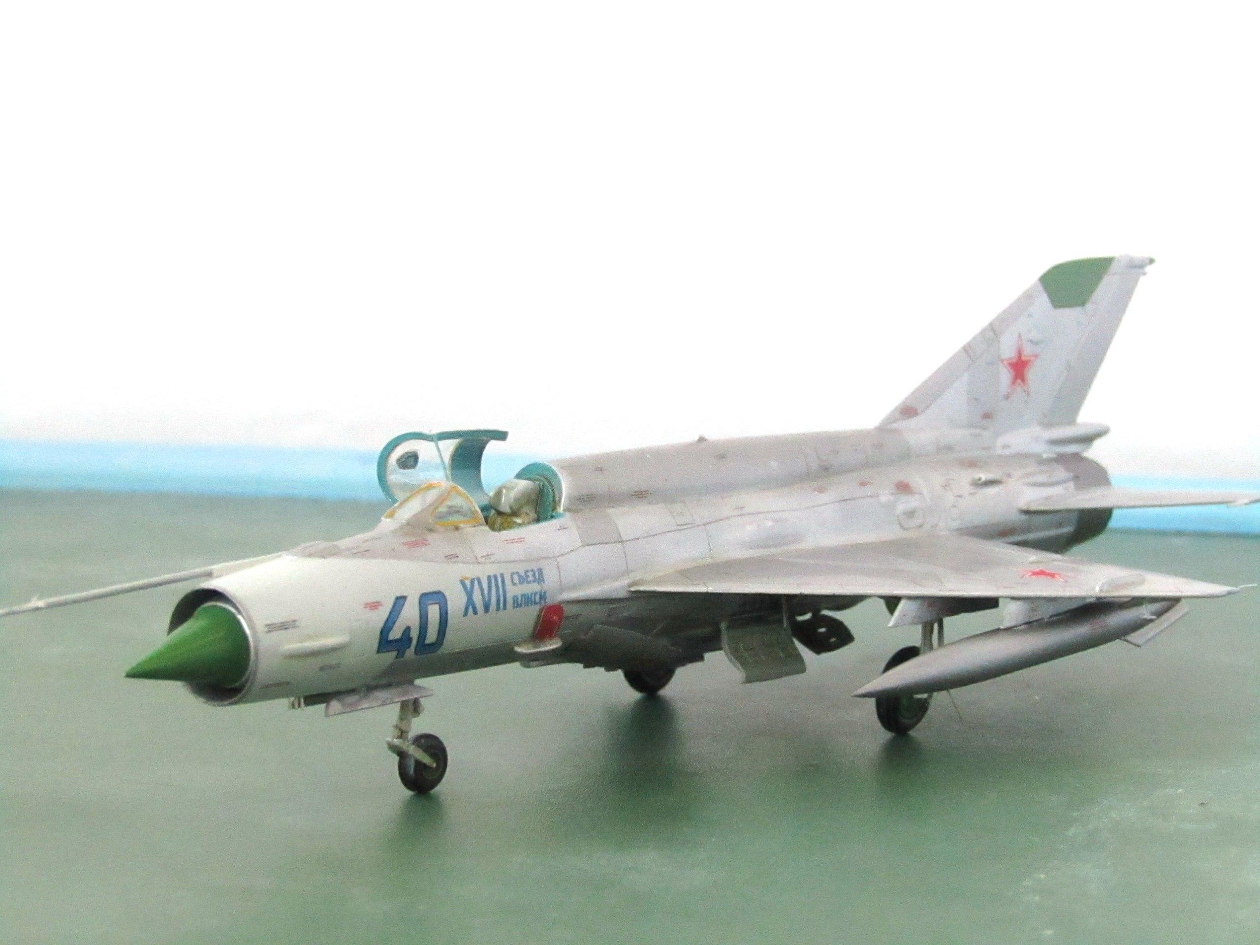 МиГ-21БИС 1/72 (Звезда) MdcXC7s1lqg