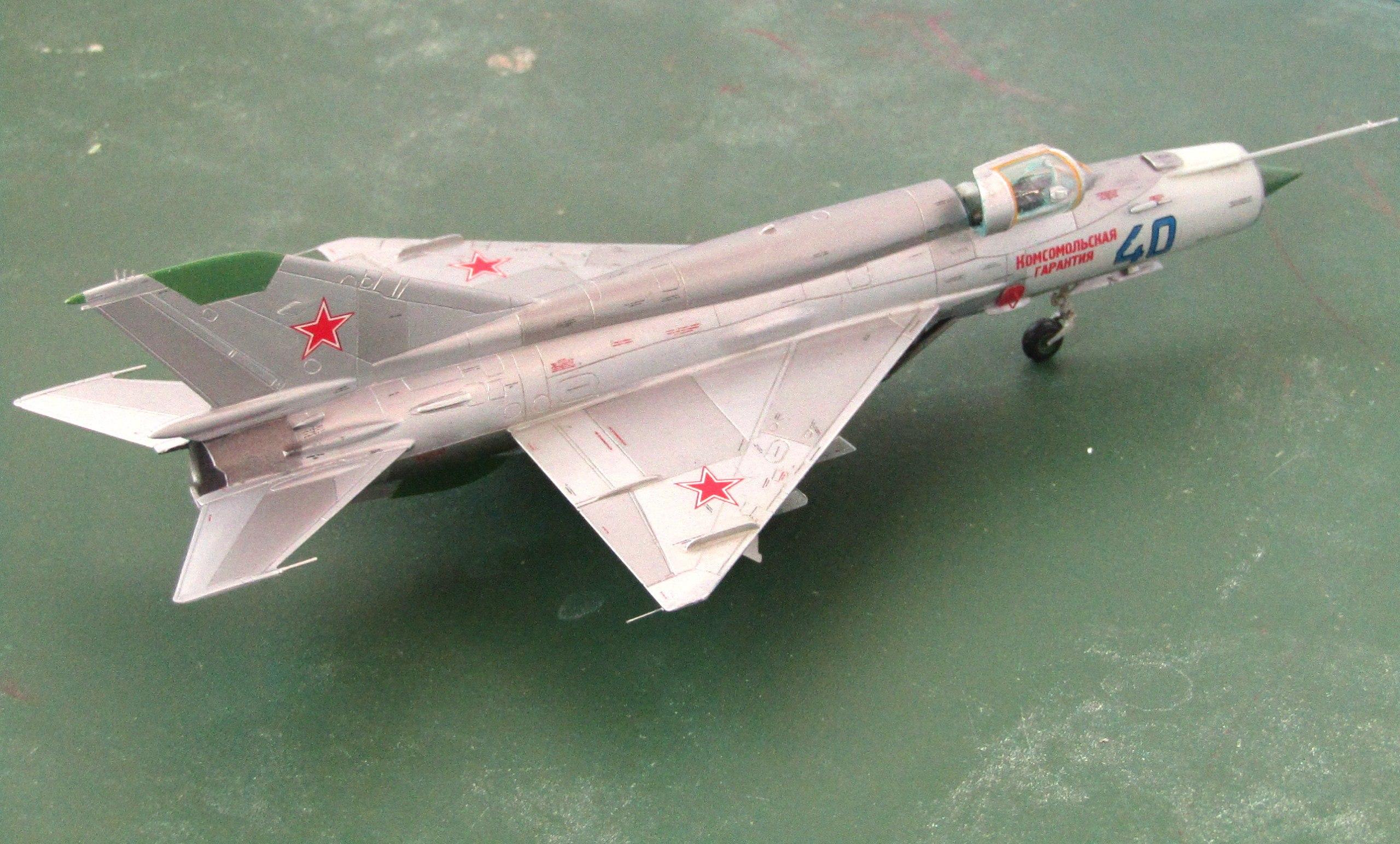 МиГ-21БИС 1/72 (Звезда) Vb1pcBFn3ps