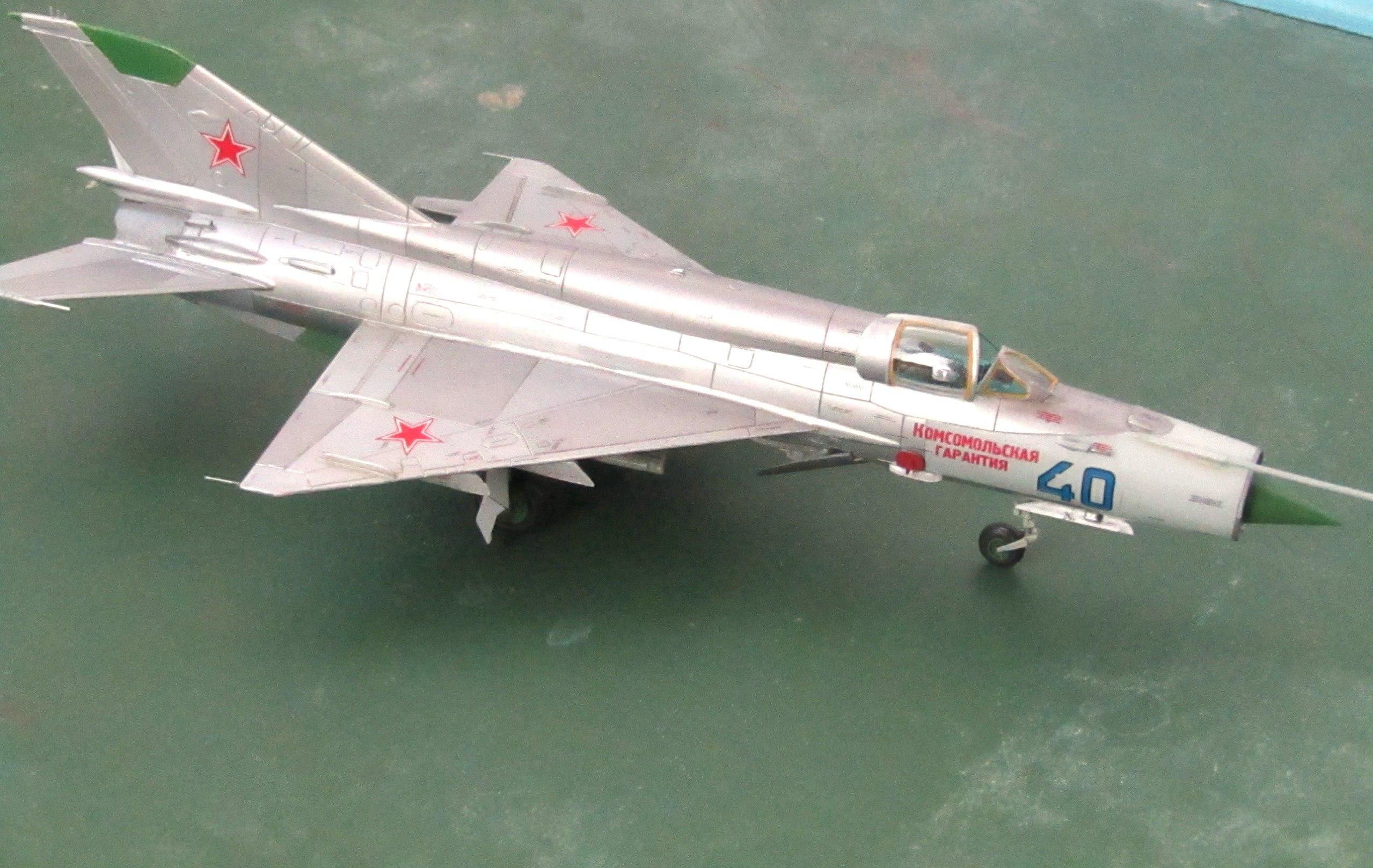 МиГ-21БИС 1/72 (Звезда) Z0c0rKRMyks